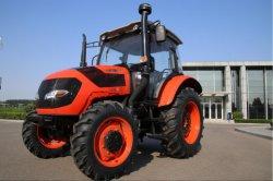 Tractor 4WD DE 80 HP FL804 Cabin FarmLead Sinopard Farm, tractor agrícola Alfaias