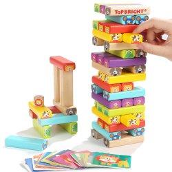 Giocattoli educativi di legno del gioco di intelligenza dei nuovi prodotti DIY