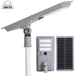 실외 방수 모션 센서 태양열 전등 모두 통합 LED Solar Street 조명 1개 50W 80W 100W