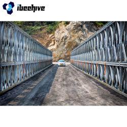 Puente portátil Bailey Costo del acero de la armadura de los puentes Bailey en venta