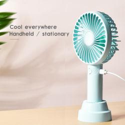 Портативный ручной вентилятор 1200Мач аккумулятор USB вентилятор системы охлаждения для домашнего офиса на открытом воздухе