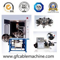 Alta velocidad/RG59 Cable coaxial RG6 trenzar la máquina con certificado CE
