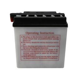 Сухой аккумулятор N6.5 свинцовых детали мотоциклов