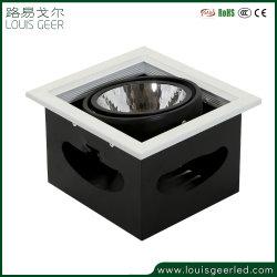Indicatore luminoso chiaro modulare messo registrabile della griglia del riflettore LED di 12W 15W