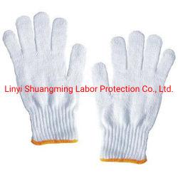 Étoffes de bonneterie de coton des ménages des gants de sécurité de travail Commerce de gros