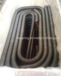 Настраиваемые черным покрытием двери гаража пружину двери промышленного оборудования