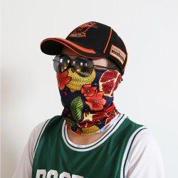 Фрукты шаблон красочный сталкиваются с шарфом горловины оптовой пользовательская установка защитной трубки Bandana головные уборы