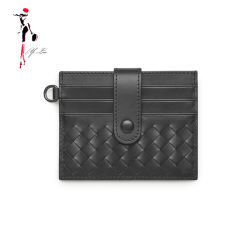 Venda quente PU Leather dinheiro encaixar os homens titular cartões RFID
