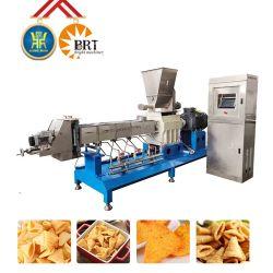 핫 셀링 프라이드 스낵 기계 프라이드 펠렛 압출기 프라이드 콘 칩 생산 라인