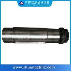 Parti di trasmissione forgiate di precisione personalizzate lavorazione CNC metallo acciaio inox Albero scanalato/rotore/pignone