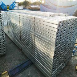 مواد بناء من صفائح السقالات من وضعية البلانك الفولاذية المجلفنة