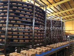 Espiral Industrial congelación equipos para carnes pescados mariscos aves de corral Dumpling Pan/congelador rápida espiral doble tambor