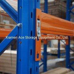 Estilo Dexion Puerta Palete Interbloqueo de alta capacidad estanterías estantería de palet techado cable