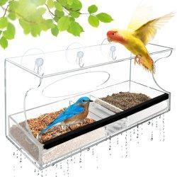 Оптовая OEM-акриловый Birdhouse высокого качества