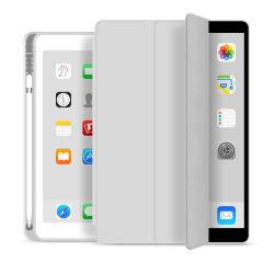 iPad 10.2를 위해 iPad 10.2를 위한 펜 슬롯 PU 가죽 Filp 상자를 가진 2019 TPU 쉘을 싸십시오