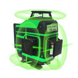 Croosの床のRotariのビームレーザーのレベルを水平にしている4D 16linesの緑360の自己