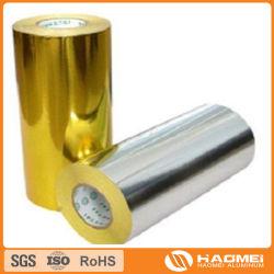 Золото из алюминиевой фольги для производства продовольствия и фармацевтической упаковки