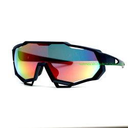 802 L'usine de lunettes de vélo Cyclisme Sports de plein air Sports d'une pièce Lunettes de soleil pour Hommes Femmes Hot vendre des lunettes de protection de 100 %