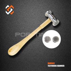 ツールの高品質に経済的な金細工人手をする宝石類はHam002にハンマーを織る革クラフト用具を使う