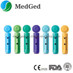 Одноразовые стерильные пластмассовые поверните верхнюю часть крови Lancet