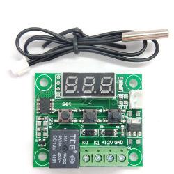 12Vデジタルの臨時雇用者のサーモスタットの温度調節器センサーのリレースイッチ-50-110c W1209