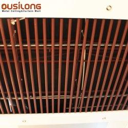 De vuurvaste Binnenlandse Grijze Daling van het Scherm van het Profiel van het Aluminium onderaan de Tegels van het Plafond