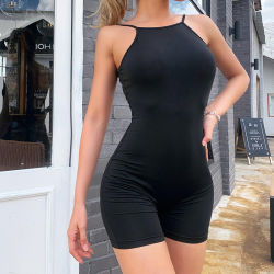 Bustier Jumpsuit Verano Yoga ropa deportiva ropa moda