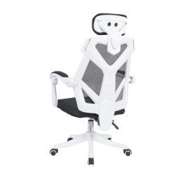조절식 스위블 메쉬 가죽 프래빅 가구가 있는 사무용 의자