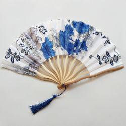 [Ich bin Ihre Fans], personifizierte Firmenzeichen-Zoll gedruckte Papier-faltende Handbambus-Ventilatoren bekanntmachend