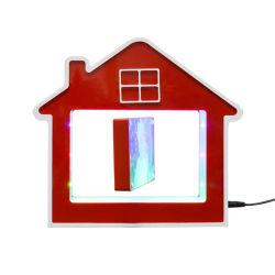 Cadeaus Love Baby House vorm magnetische Levitatie Foto frame zwevend Display in de lucht