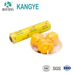 필름 PE 보호 필름 달라붙기 위하여 신선한 생물 분해성 PVC 급료 음식 뻗기를 플라스틱 부엌 상품 포장 필름 지키십시오