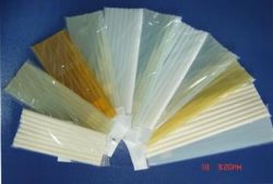 Flexible de adhesivo termofusible Stick EVA100% Negro Transparente adhesivo termofusible Palo Negro pegamento adhesivo hot melt Stick Strip