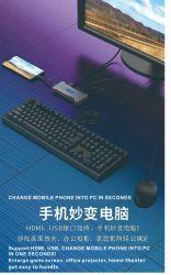 Hub USB Multi Port Xfanic 2019 hub USB C Multi Adattatore hub di ricarica HDMI ® Port HD docking Station USB 3.0