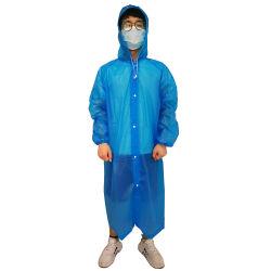Gelbes Blau pp. PE/SMS/PP/PEVA nichtgewebtes Wegwerflokalisierungs-Kleid-Antivirus beschichtend