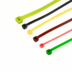 Kabelaufräumer 4,8 * 450mm Promotion Black Kunststoff Zip Tie Nylon-Kabel Krawatte
