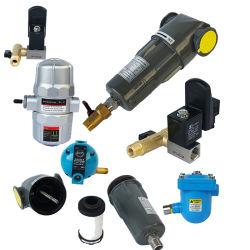 압축 공기 드라이어 시스템이 장착된 오일/물/먼지 제거용 필터
