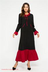 [أبا] [إيد] 2020 مسلم يرتدي لباس إسلاميّة, صنع وفقا لطلب الزّبون خدمة لأنّ مظهر, كيمونو, [أبا] [كفتن], أمومة ثوب سيادات شريط نمط كيمونو