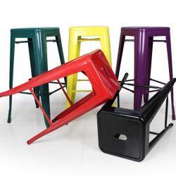 스태킹 가든 스크도구 사라 드 메탈 다이닝룸 의자 앤티크 레스토랑 의자 톨릭스 의자 메탈 바 도구