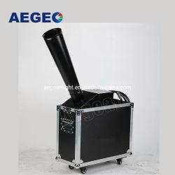 El papel de colores pequeña máquina de confeti Manual DMX512 gas CO2 efecto arcoiris Cannon la máquina para la celebración de boda