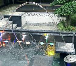 Jardín Piscina de acero inoxidable saltando laminares Fuente de agua