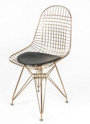 Haute qualité réplique Eames Designer Acier chromé fil Président de salle à manger