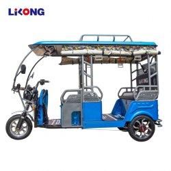 リロン・ホット・セールインド人乗客電気自動車リッキー・スリーホイール オートバイタクシー