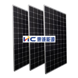 أعلى كفاءة سعر الجملة أحادية اللون 380 واط اللوحة الشمسية الكهروضوئية 96 خلية موصل مقاوم للمياه Sale Paneau Solaire