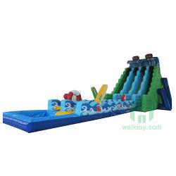 Ozean-Wellen-Vergnügungspark-Plättchen-Spielzeug mit Pool-aufblasbarem Wasser-Plättchen
