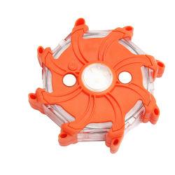 Torcia di potenza a LED ricaricabile ad alta visibilità con protezione contro gli urti e impermeabile 9 modalità Flash