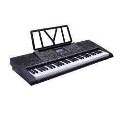 Fachmann, der elektronische Tastaturen unterrichtet