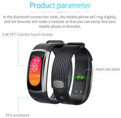 Smart Bande de fréquence cardiaque de moniteur en temps réel bracelet étanche de couchage Tracker de remise en forme de mode veille intelligent