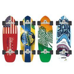 Swway Canadian Maple completo Skateboard Mini Cruiser Surf Board per Via