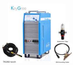 Corte Keygree-160A 3pH 380V 220V con CNC inversor inversor de la cortadora de Plasma de aire Máquina de corte (LGK-160)