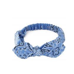 Мода украшения женщин девочек летом богемского волосы полосы печати Headbands Vintage Креста ношение тюрбана порванный жгут Bandanas Hairbands аксессуары для волос
